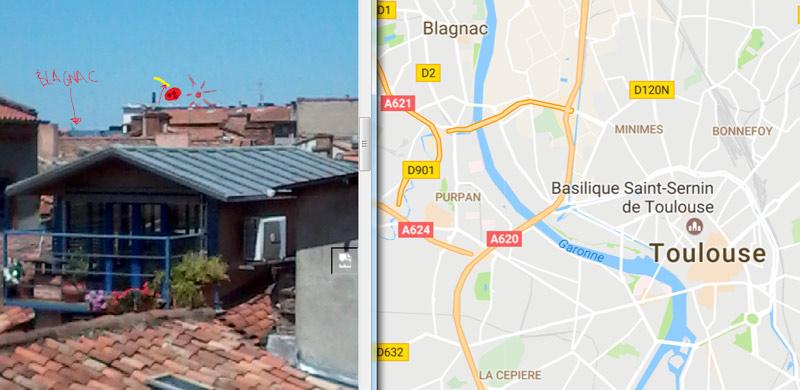 2017: le 16/06 à 00h30 - Lumière étrange dans le ciel  -  Ovnis à Toulouse - Haute-Garonne (dép.31) Oh--to10