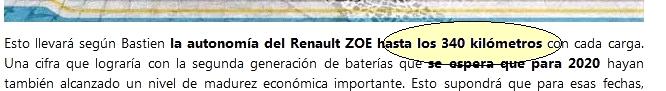 Une nouvelle batterie à 320 km NEDC 2013-122