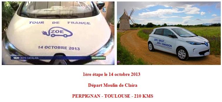 Tour de France en Zoé du 14 au 30 octobre 2013: Comptes rendus  Depart10