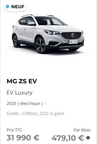 Essai MG ZS EV Captu197
