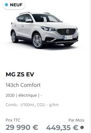 Essai MG ZS EV Captu198