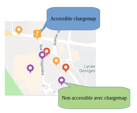 Mise à jour de Chargemap Captur54