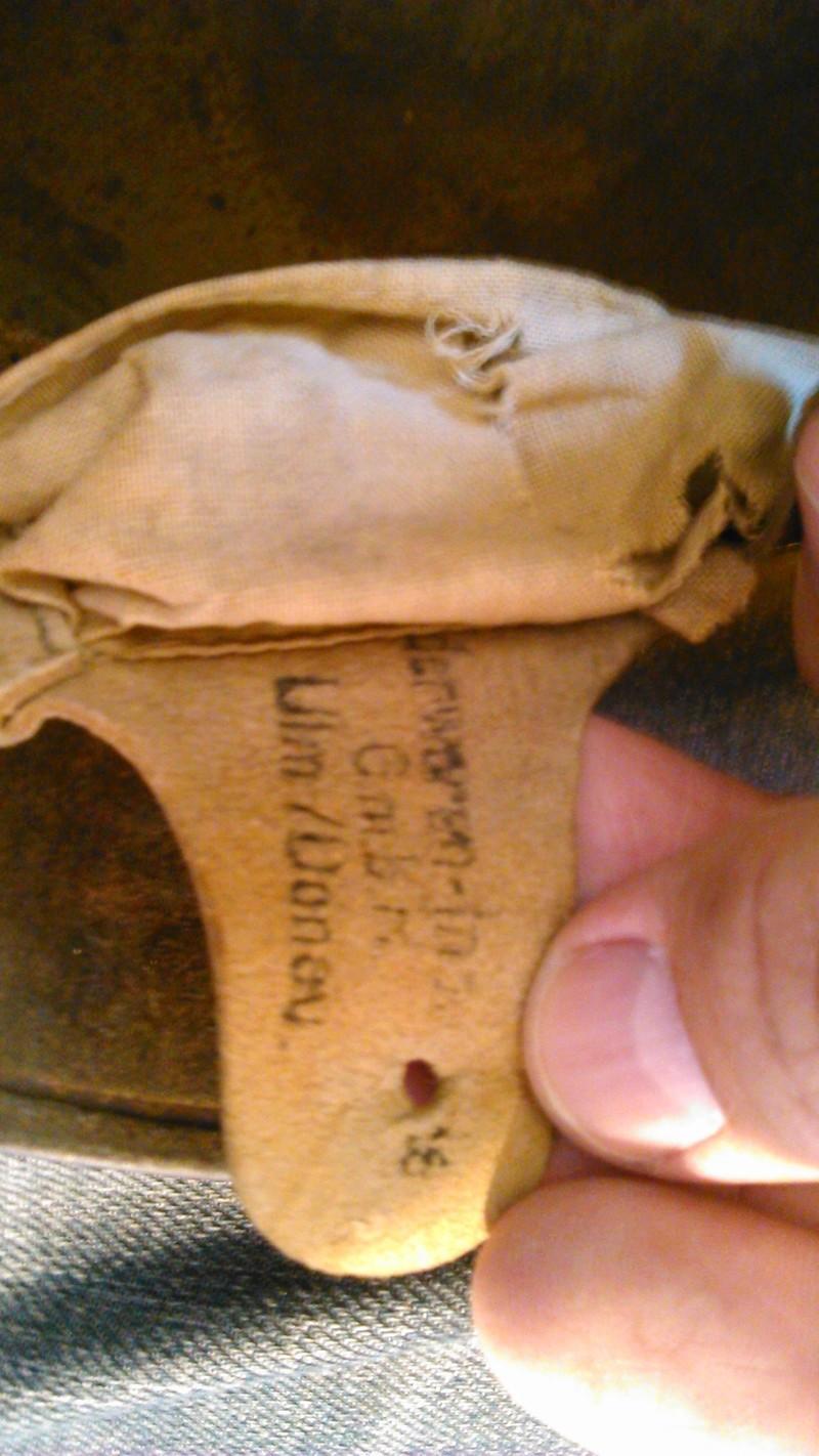 Un casque Allemand WWI  02415
