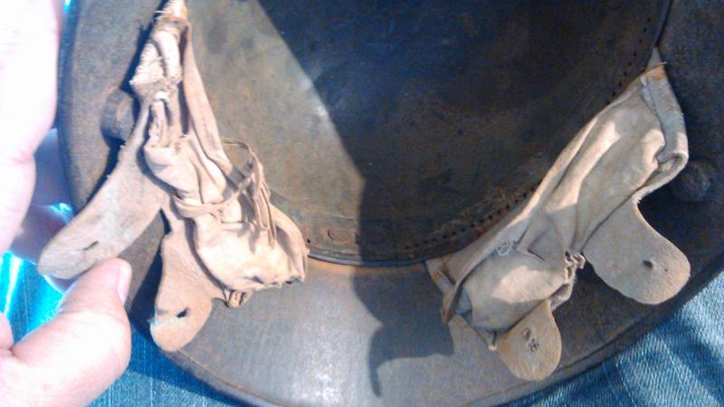 Un casque Allemand WWI  02615