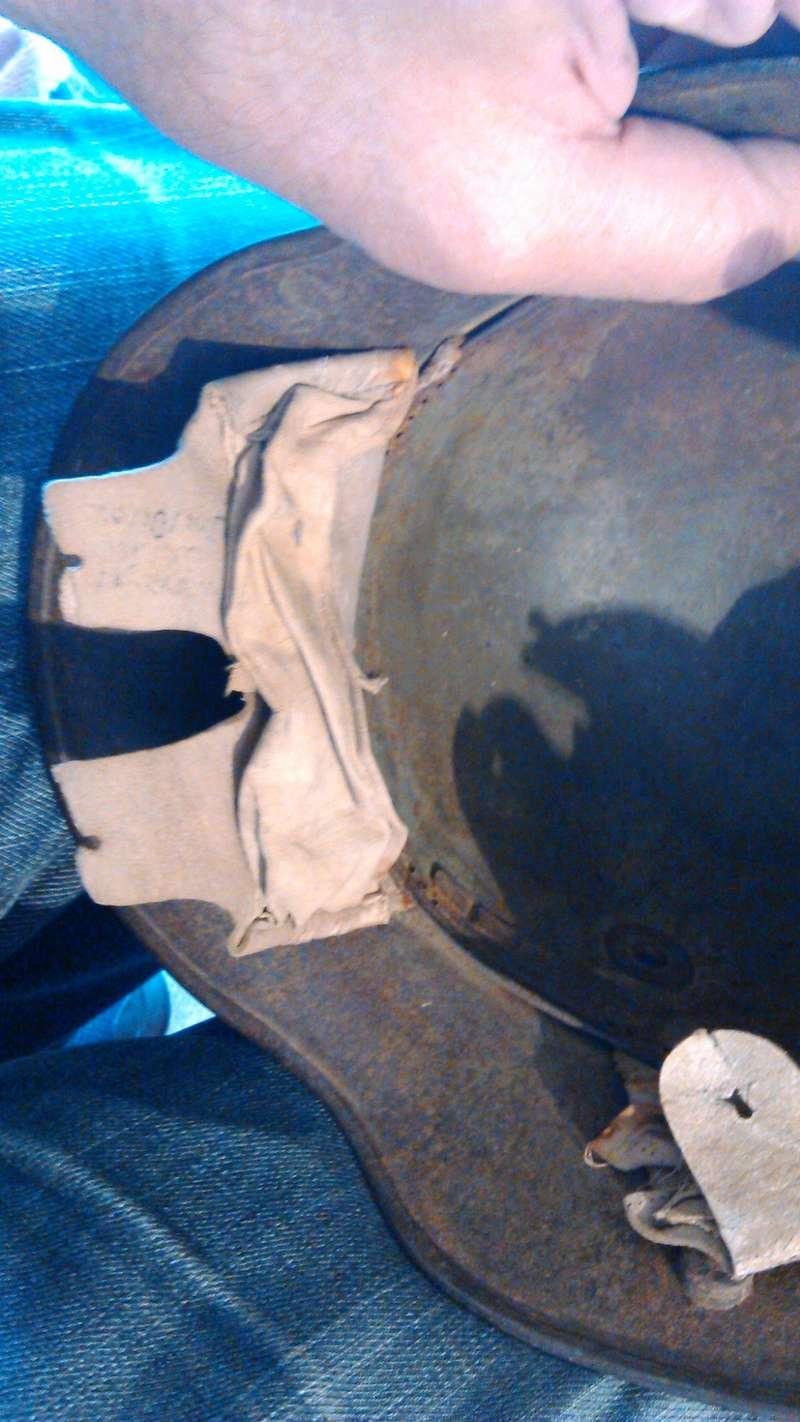 Un casque Allemand WWI  02713