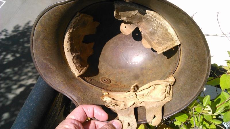 Un casque Allemand WWI  03514