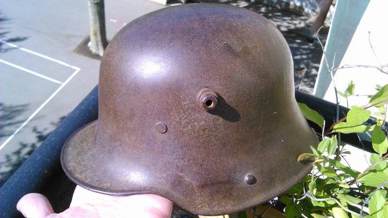 Un casque Allemand WWI  03714