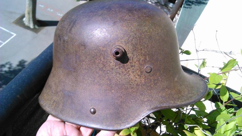 Un casque Allemand WWI  03816