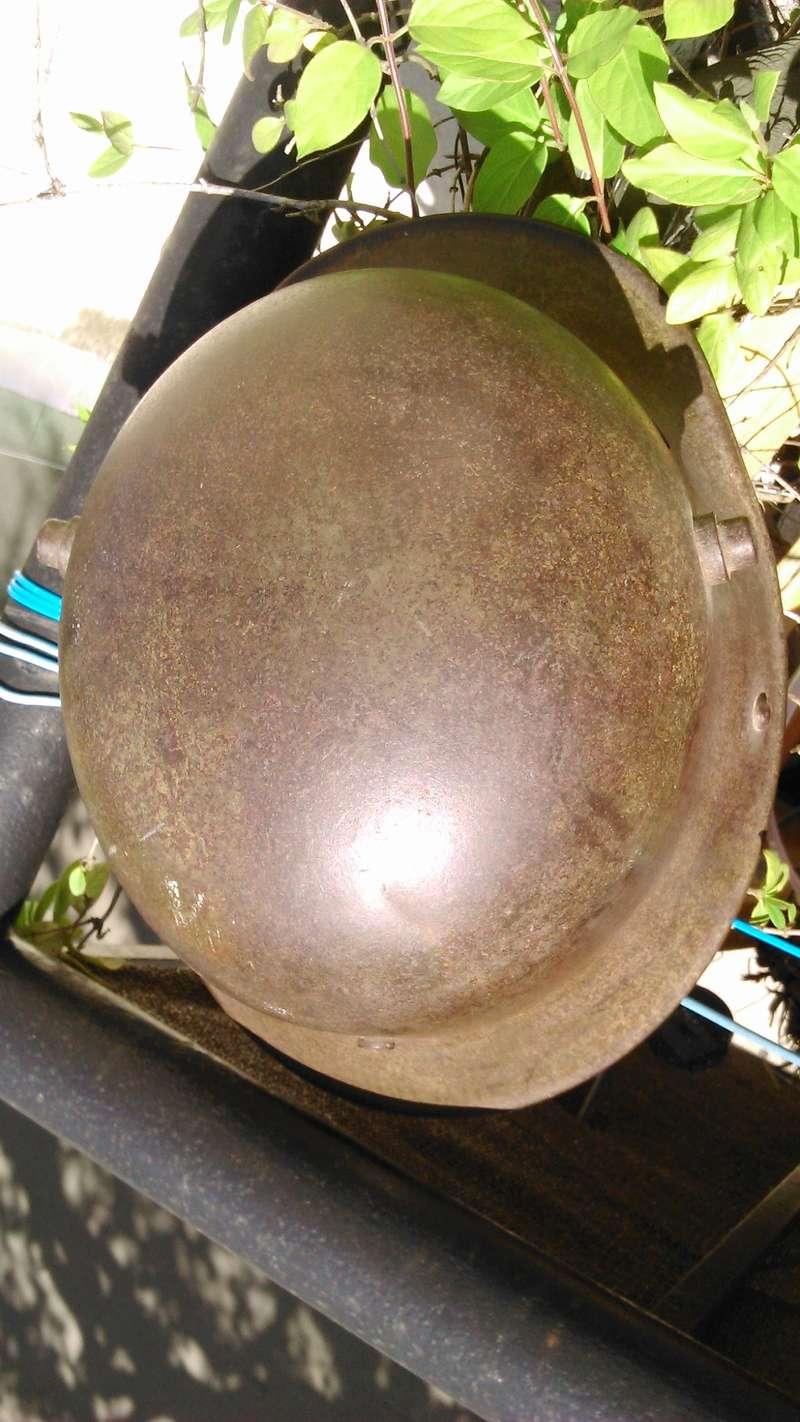 Un casque Allemand WWI  03914