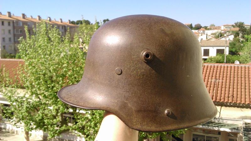 Un casque Allemand WWI  04113