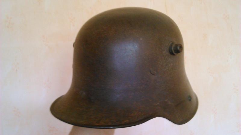 Un casque Allemand WWI  04612