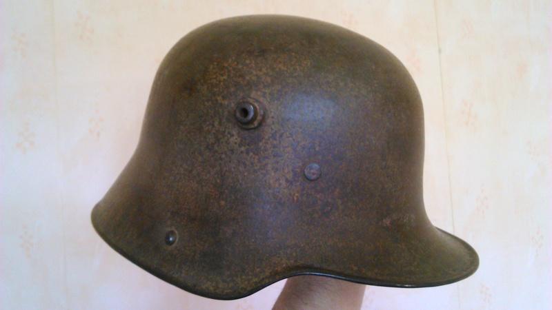 Un casque Allemand WWI  04712