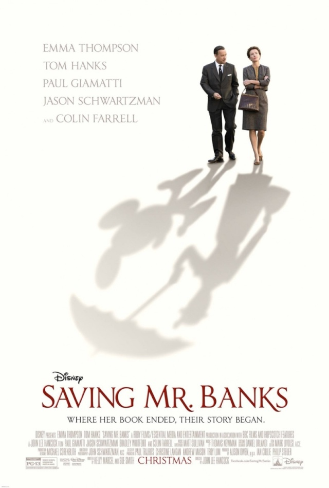 "Dans l'Ombre de Mary ""Saving Mr. Banks"" (Disney)  05/03/2014 2013-b11"