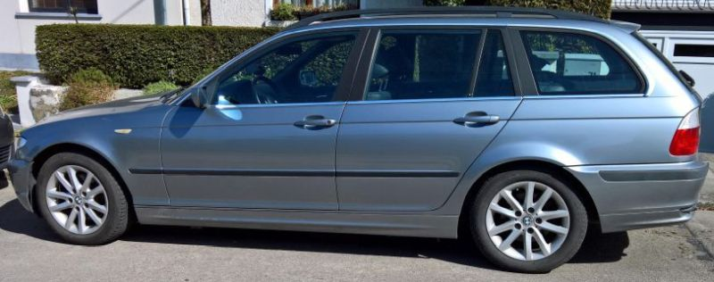 Vente de ma bmw touring e46 320d 2004 Profil11