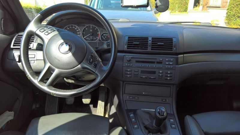 Vente de ma bmw touring e46 320d 2004 Tablea11
