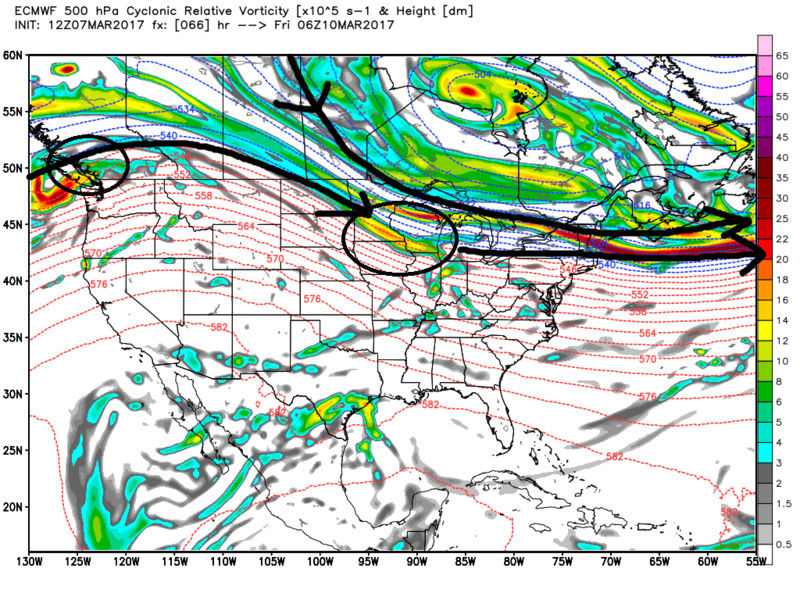 """Friday, March 10th """"Wave 1"""" Minor Snow Event - Page 4 Ecmwf_38"""