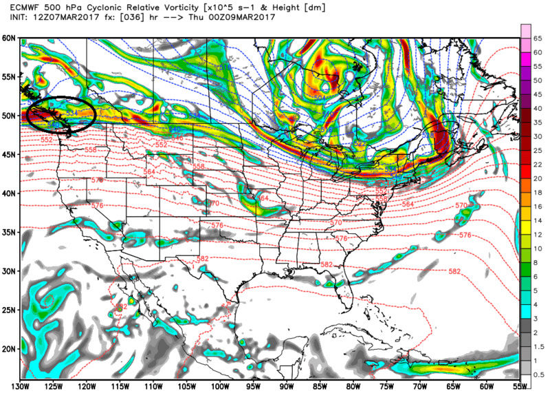 """Friday, March 10th """"Wave 1"""" Minor Snow Event - Page 4 Ecmwf_40"""