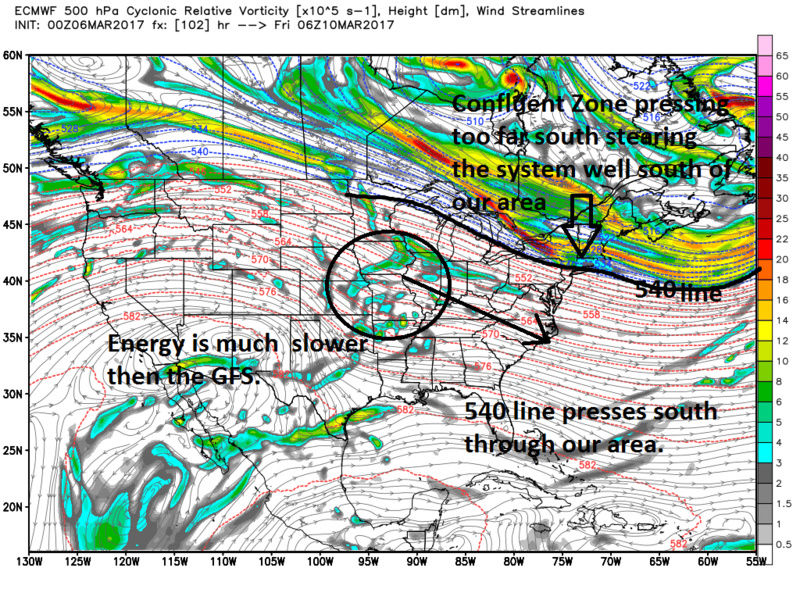 """Friday, March 10th """"Wave 1"""" Minor Snow Event - Page 4 Ecmwf_42"""