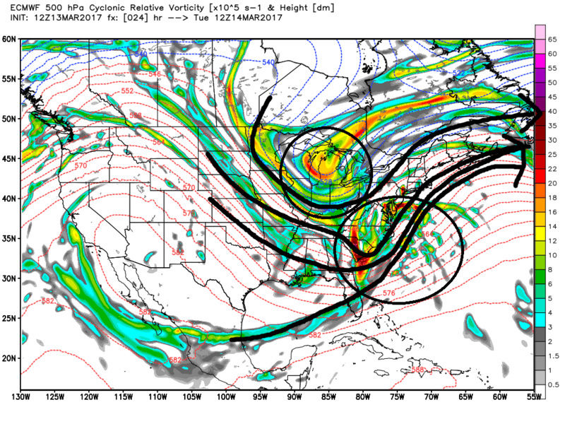 March 14, 2017 Storm In Review Ecmwf_56