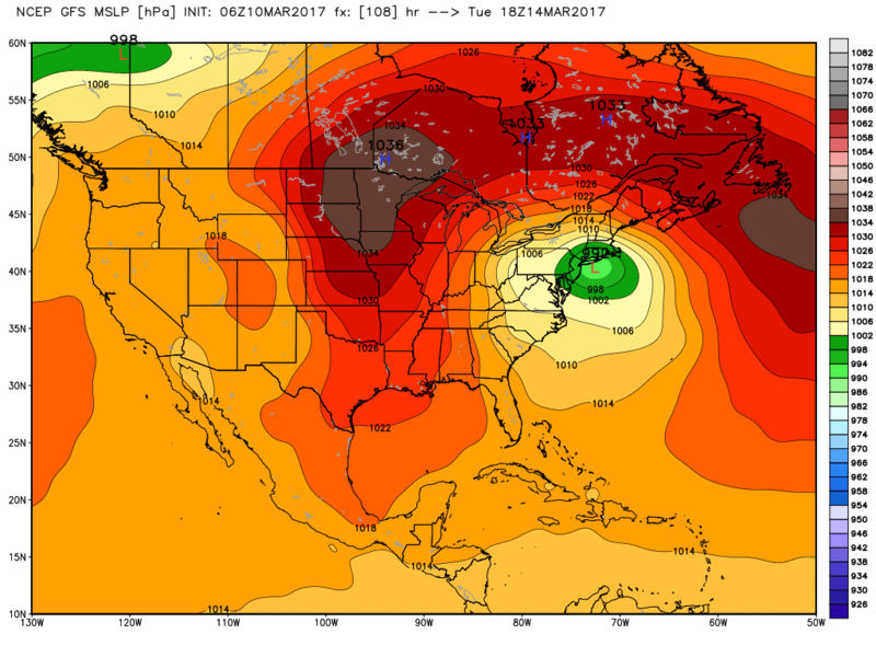 BLOG: Roidzilla Could Impact Area Tuesday March 14th - Page 3 Gfs_ms11