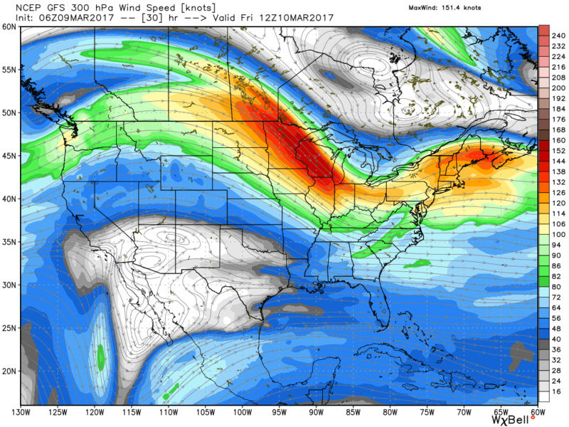 FRIDAY MARCH 10th 2017:  Discussions & Observations   Gfs_uv10