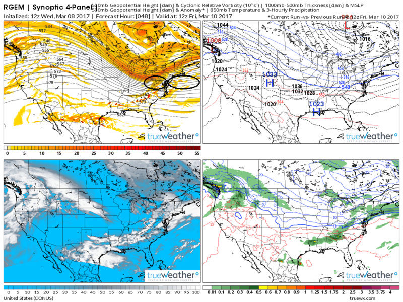 """Friday, March 10th """"Wave 1"""" Minor Snow Event - Page 6 Synopt10"""