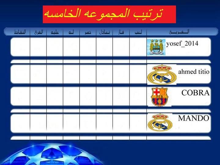 نتائج المجموعات الخامسة والسادسة (E & F ) دور الـ 32 من دوري ابطال اوربا  14708310