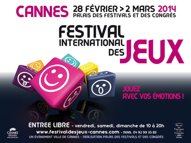 Festival International des Jeux de Cannes 2014 800x6011
