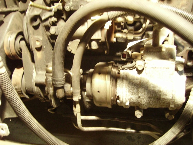 Fuite de liquide de DA sur Chrysler GV 2.5TD 1999 R8610