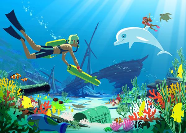 Oum le dauphin blanc bientôt de retour sur TF1 Arton410