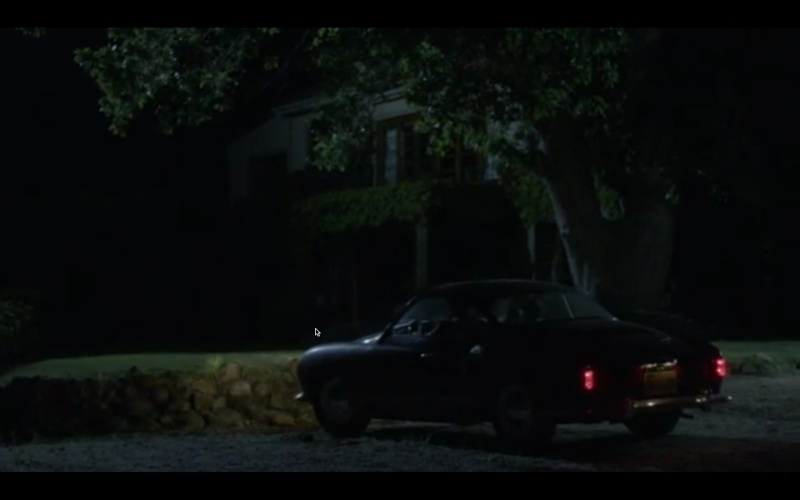 "Karmann Ghia vue dans ""The Girl"" Hitchcock Screen13"