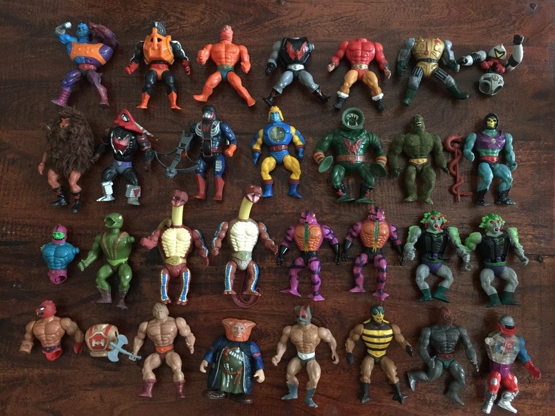 Lotto Masters Of The Universe Mattel anni 80 Img_8414