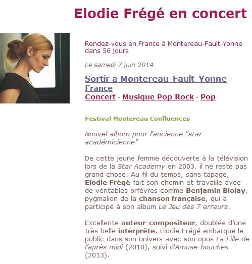 Elodie Frégé au Festival Montereau Confluences (07 juin 2014) Captu137