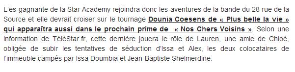 """""""Nos chers voisins"""" : Élodie Frégé au casting de la série (16 avril 2014) Captu140"""