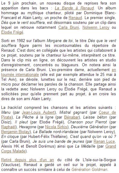 """C Bruni, N Leroy, E Frégé : Unies pour """"Dès que le vent ..."""" (23 mai 2014) Captu146"""
