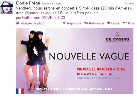 """Concert """"Nouvelle Vague"""" au De Casino à Sint-Niklaas (11 oct 2013) Captur15"""