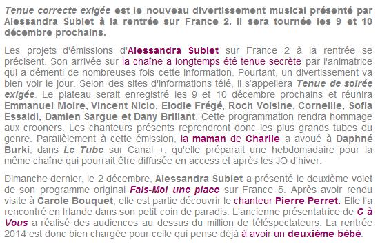 """""""Tenue de soirée exigée"""" sur France 2 (04 janvier 2014 à 20h45) Captur56"""