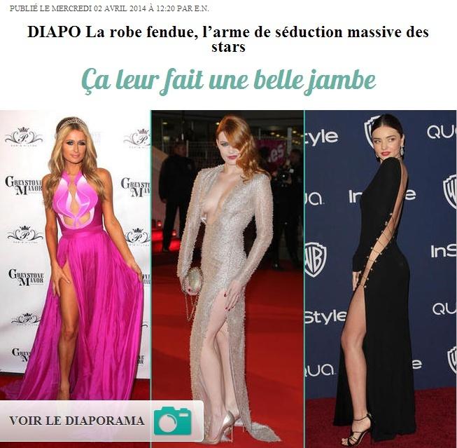 La robe fendue, l'arme de séduction massive des stars (02 avril 2014) Captur80