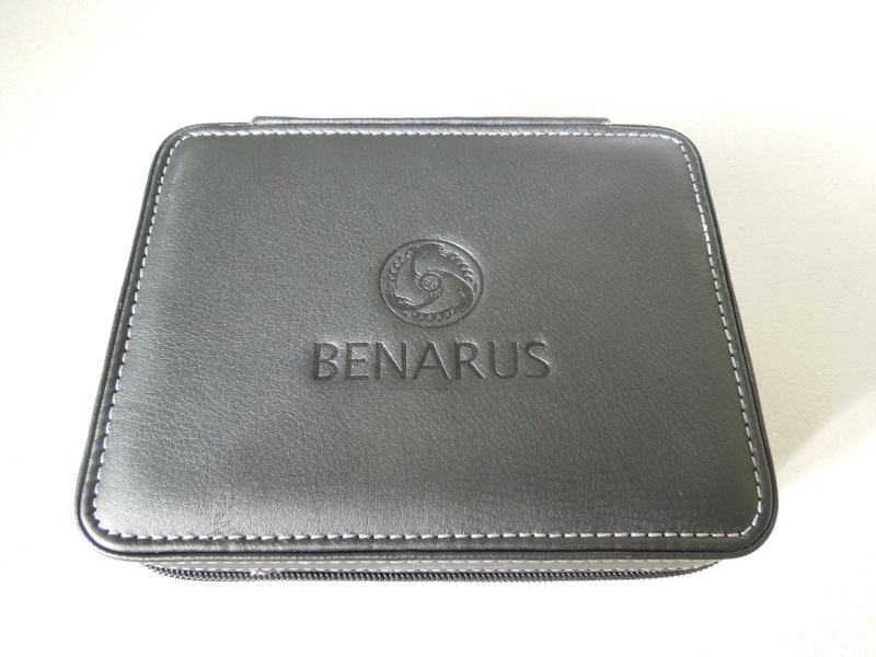 Petite revue de la Benarus Moray Blue Dart Dial (toolwatch inside) Dscn5226