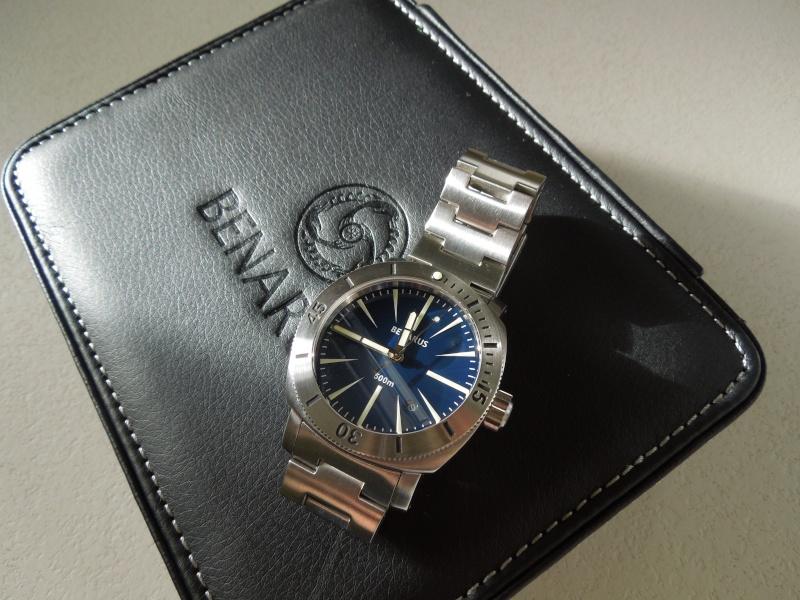 Petite revue de la Benarus Moray Blue Dart Dial (toolwatch inside) Dscn5230