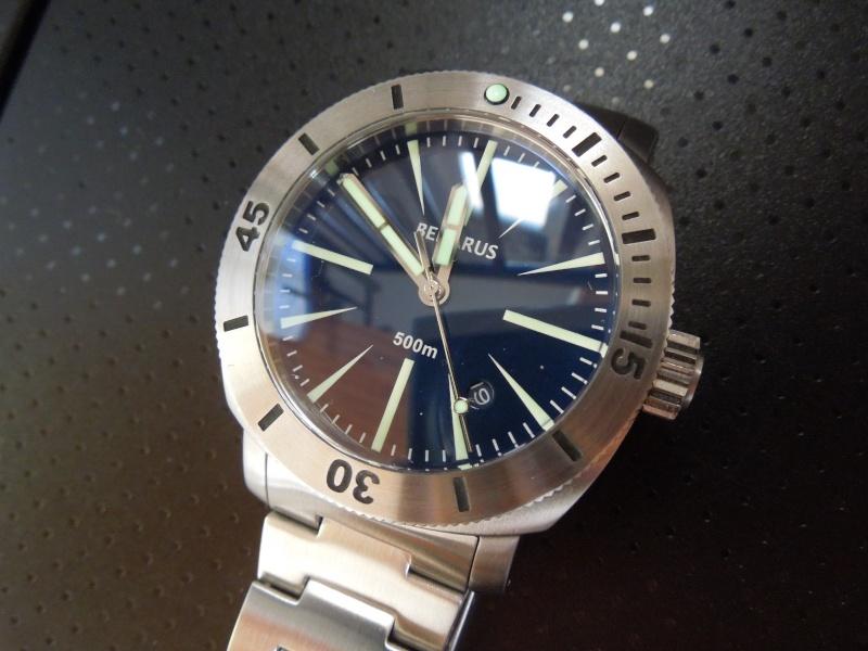 Petite revue de la Benarus Moray Blue Dart Dial (toolwatch inside) Dscn5233