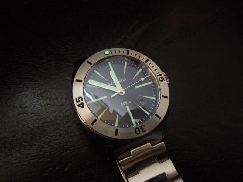 Petite revue de la Benarus Moray Blue Dart Dial (toolwatch inside) Dscn5234