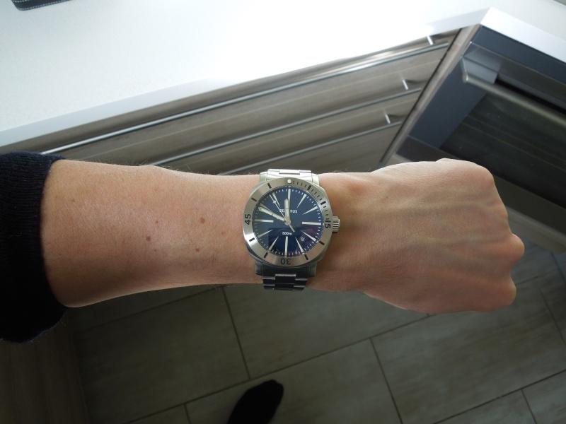 Petite revue de la Benarus Moray Blue Dart Dial (toolwatch inside) Dscn5235
