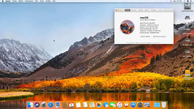 MacOS High Sierra 10.13 Beta 113