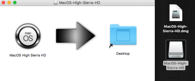 MacOS High Sierra HD 11510