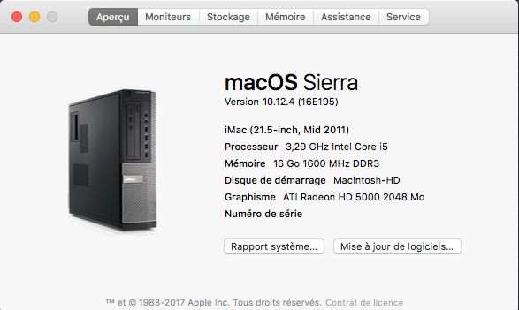 Mac OS SIERRA 10.12.4 Captu100