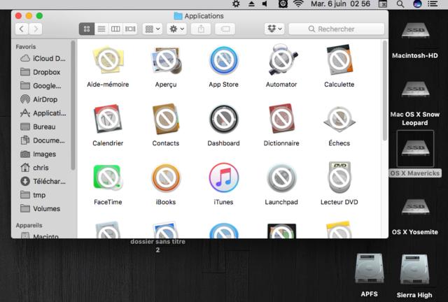 MacOS High Sierra 10.13 Beta Captu261
