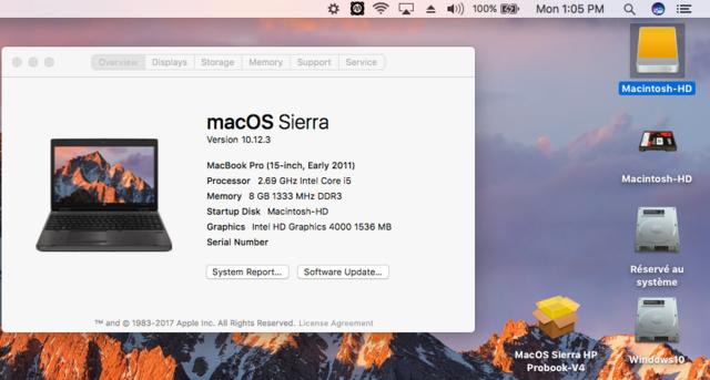 macOS High Sierra et macOS   Sierra HP Probook 4530S, 4440S, 4540S, 6460B, 6570B, 8460P, 8470p, 6470B,2570P, 9470M (UEFI) - Page 3 Captur24