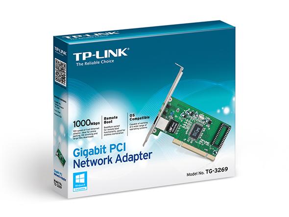 Adaptateur réseau Gigabit PCI TG-3269 Tg-32611