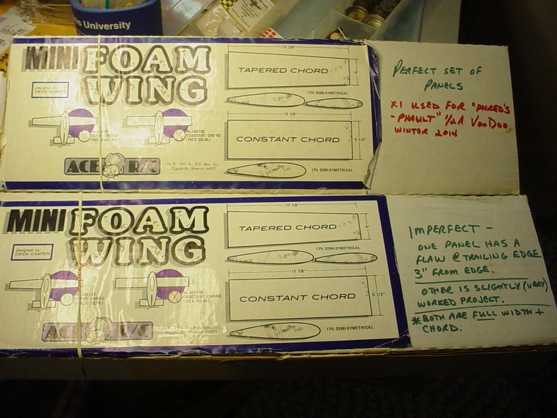 "Ace foam wing ""plans"" Ace-a10"